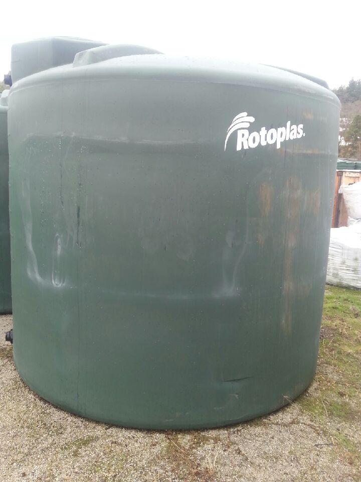 1600 gallon tank