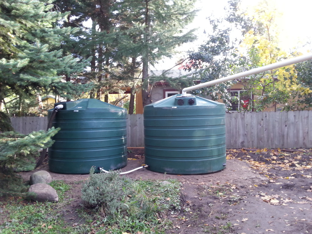 2-1320 gallon bushman tanks