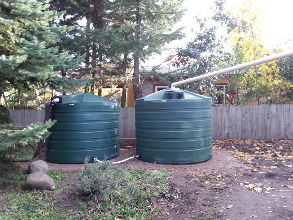 2-1320 gallon bushman tanks